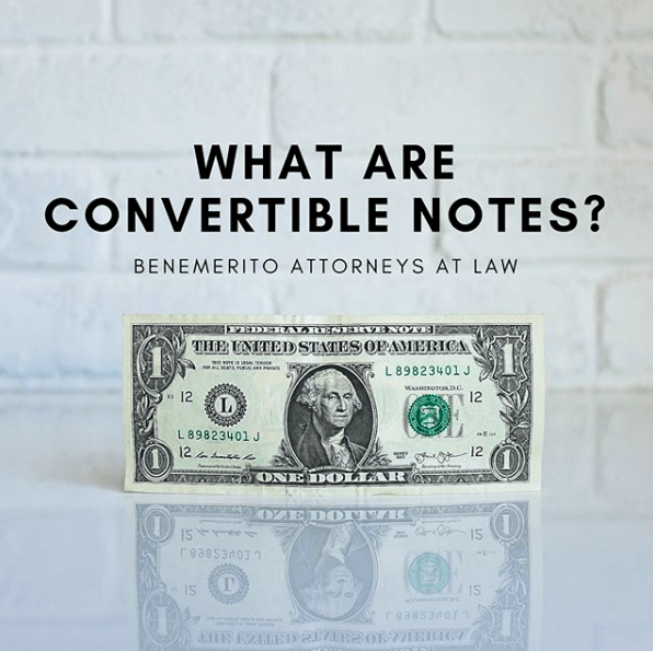 WHAT ARE CONVERTIBLE NOTES?