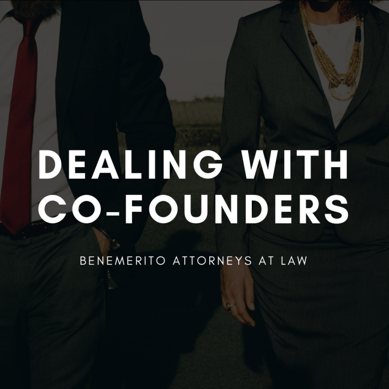 Dealing with Co-Founders